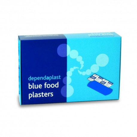 Blue Detectable Plasters x 100