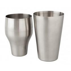 Mezclar French Shaker - Stainless Steel