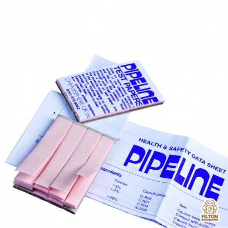 Pipeline Rinse Test Papers - Booklet
