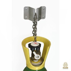 Zinc Plated Gas Cylinder / Trolley Safety Chain