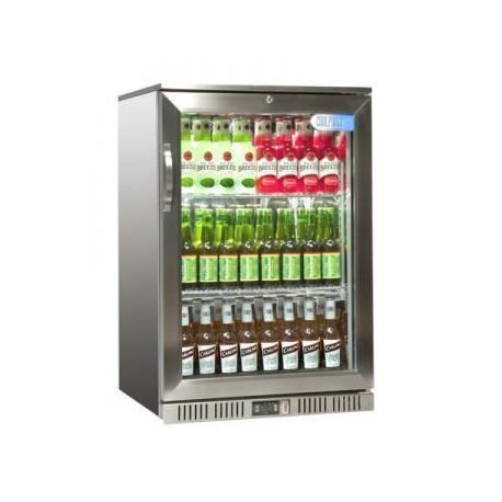 Coolpoint HXST110 Single door cooler - Stainless Steel