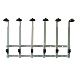 6 Bottle Standard Wall Rack 70cl / 1 litre