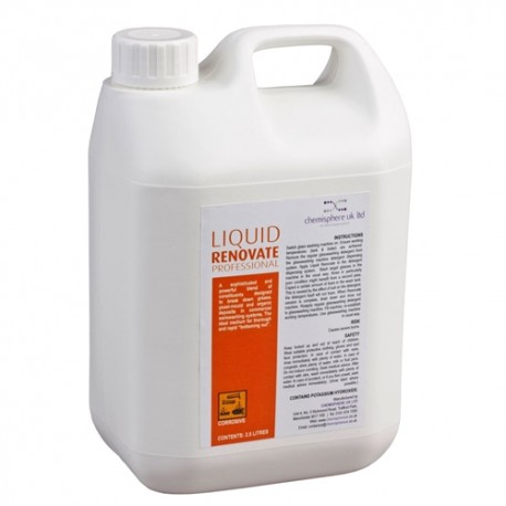 Liquid Renovate Professional - 2.5 Litre x 4 Bottles