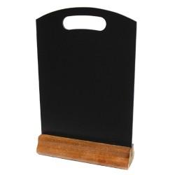 Hand Held Menu Board - Red Mahogany Base - 230mm x 148mm