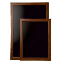 Framed Blackboard Oak - 636mm x 486mm