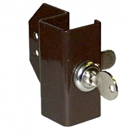 Lock and Bracket for Drawer Runner