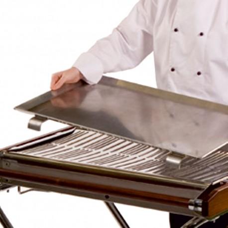 """Cinder Barbecue Griddle 29"""" x 17.5"""" Aluminium"""