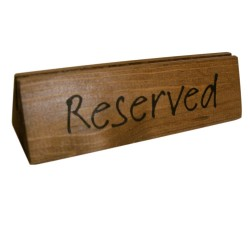 Reserved Sign (x10)