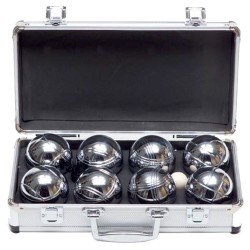Boules In A Metal Box