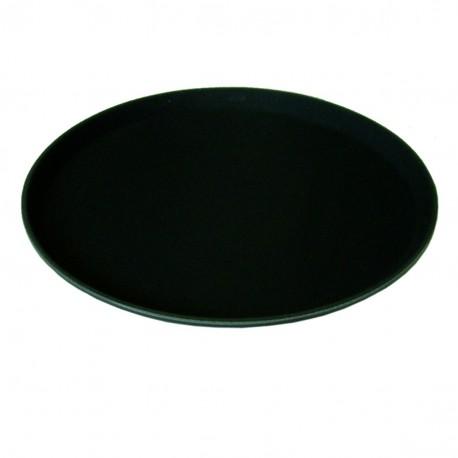 Round Black Non Slip Tray